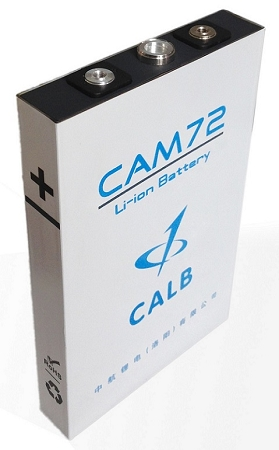 Cam72fi 72ah Calb Ev Lithium Lifepo4 Prismatic Cell Battery