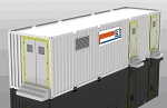 1MWH Energy Storage Banks <br> in 40ft Containers...$759,650 each, Plus Freight <br> Solar Compatible! - May be stacked in parallel <br> 10 Year Factory Warranty <br> 20 Year Design Life <br> <b> Click here for more information </b>