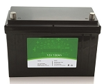 1280 Watts 1.28kW 12V 100Ah <br> EV LiFePO4 Lithium Battery Pack <br> Can be connected in series up to 48 volts. <br> <b> Click here for more information </b>