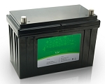 2560 Watts 2.56kW 12V 200Ah <br> EV LiFePO4 Lithium Battery Pack <br> 19.1*6.7*9.6 in <br> 485*170*245mm <br> 55.1 Lbs. / 25Kg <br> Can be connected in series up to 48 volts. <br> <b> Click here for more information </b>