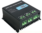 12V or 24V 30A MPPT <br> Solar Charge Controller <br> For Flooded, SLA, AGM, Gel, <br> and Lead Acid Battery Packs <br> Click here for more information