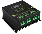 12V, 24V, 36V, or 48V 60A PWM <br> Solar Charge Controller <br> For Flooded, SLA, AGM, Gel, <br> and Lead Acid Battery Packs <br> Click here for more information