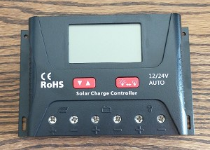 12V or 24V 40A PWM<br>For Lithium or Lead Acid Battery Packs<br>Solar Charge Controller