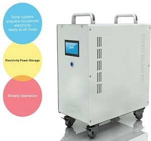 2000W Output <br> Complete Residential, Boat, and <br> Light Commercial <br> Battery Storage System <br> With Solar Inverter and Charge Controller <br> <b> Click here for more information </b>
